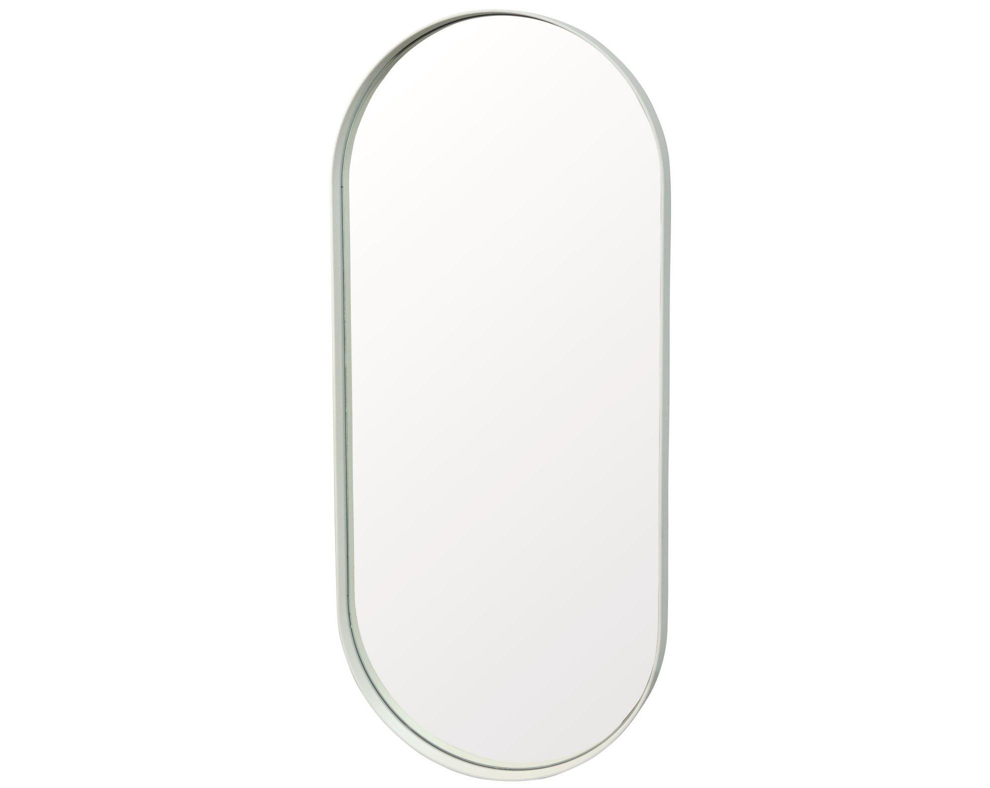Настенное зеркало ванда 90*40 (simple mirror) белый 40x90x4 см.