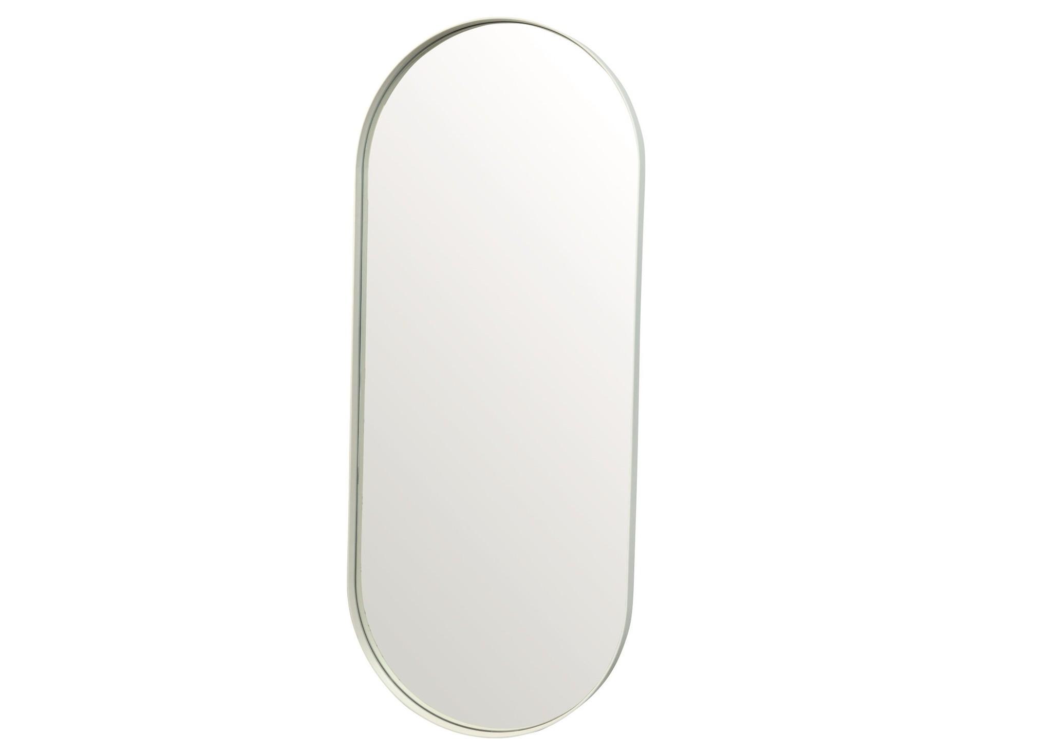 Настенное зеркало ванда 120*50 (simple mirror) белый 50x120x4 см.