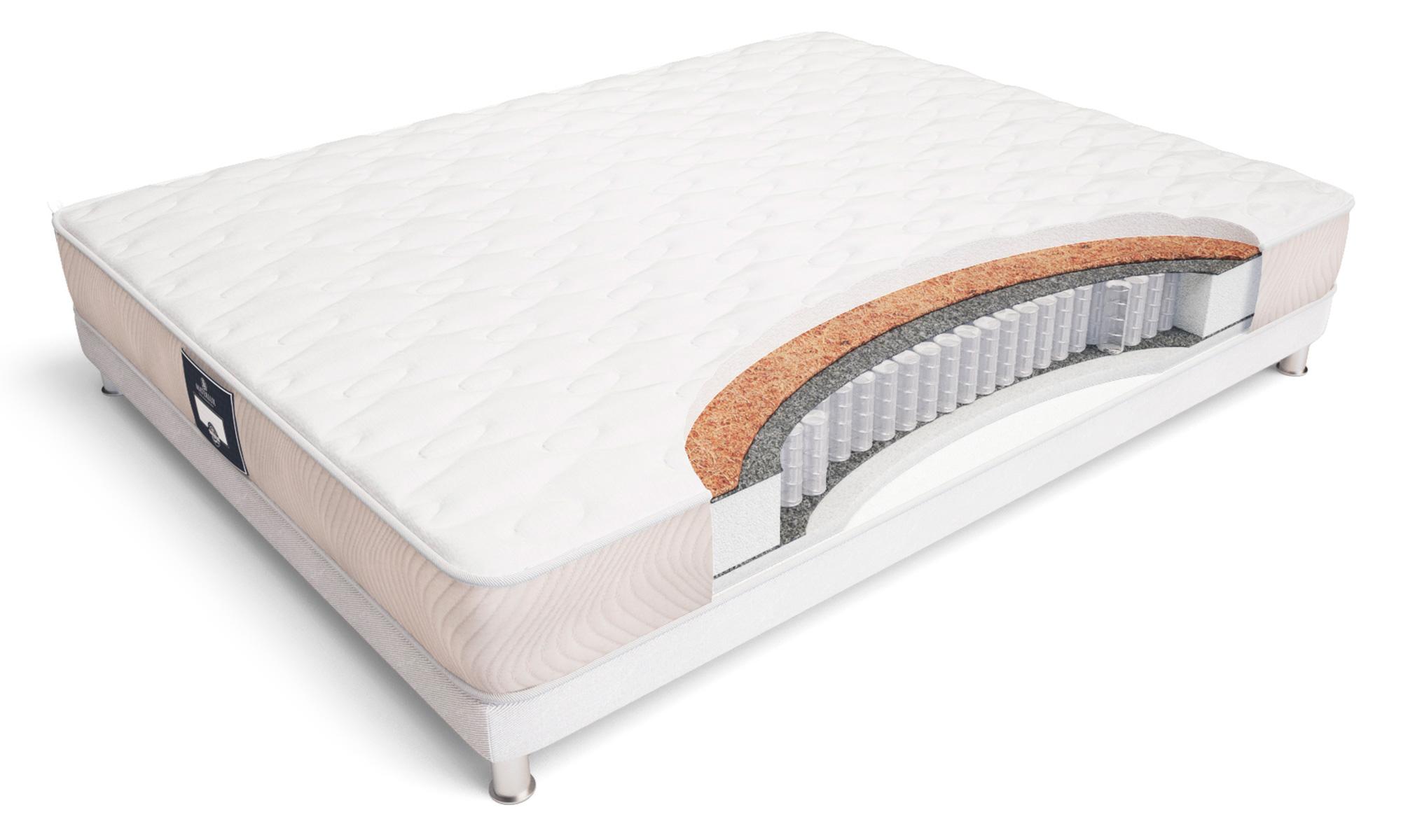 Матрас toskana maxi 90*195 (materlux) белый 90x18x195 см.