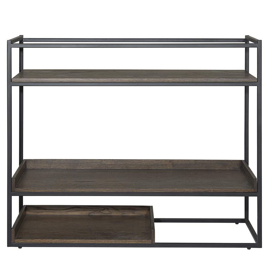 Столик rivoli (unique) коричневый 90x79x38 см.