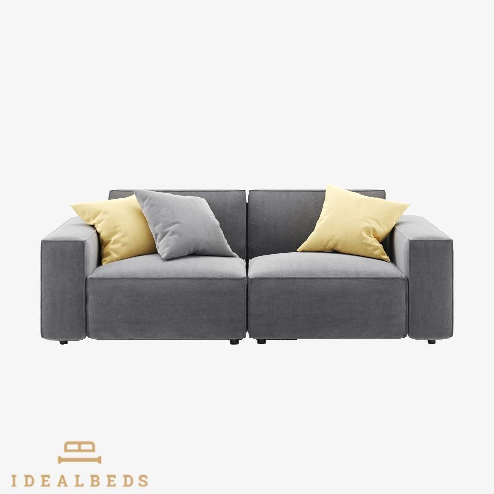 Idealbeds диван модульный como серый 132989/2
