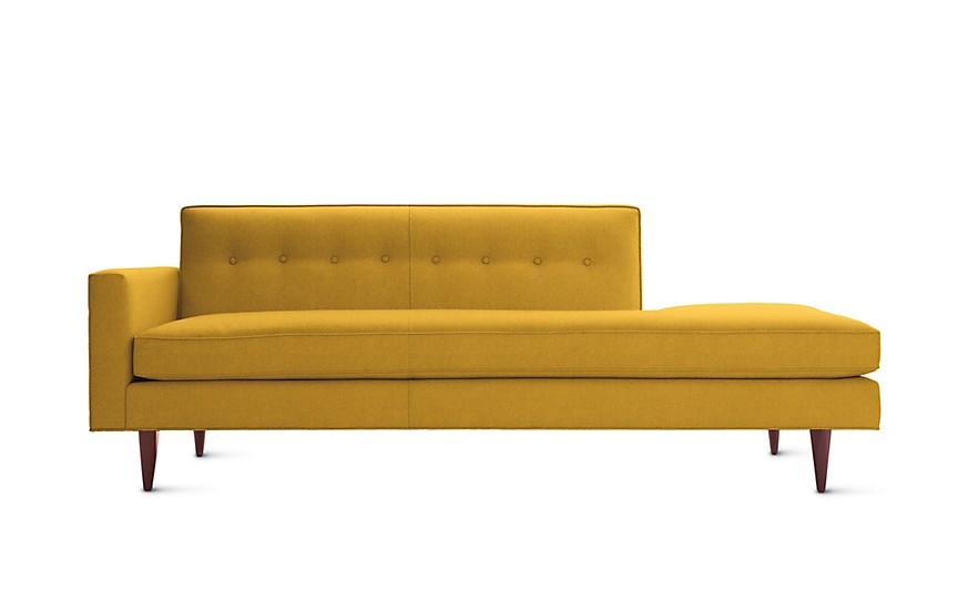 Idealbeds диван bantam yellow желтый 133097/2