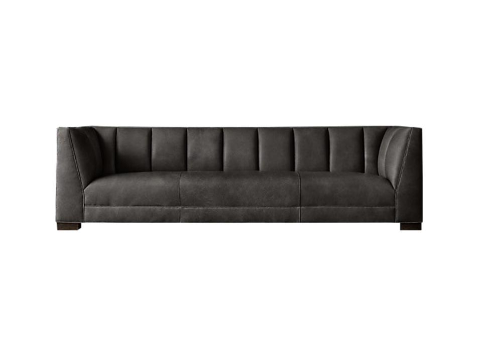Idealbeds диван paxton черный 133227/5