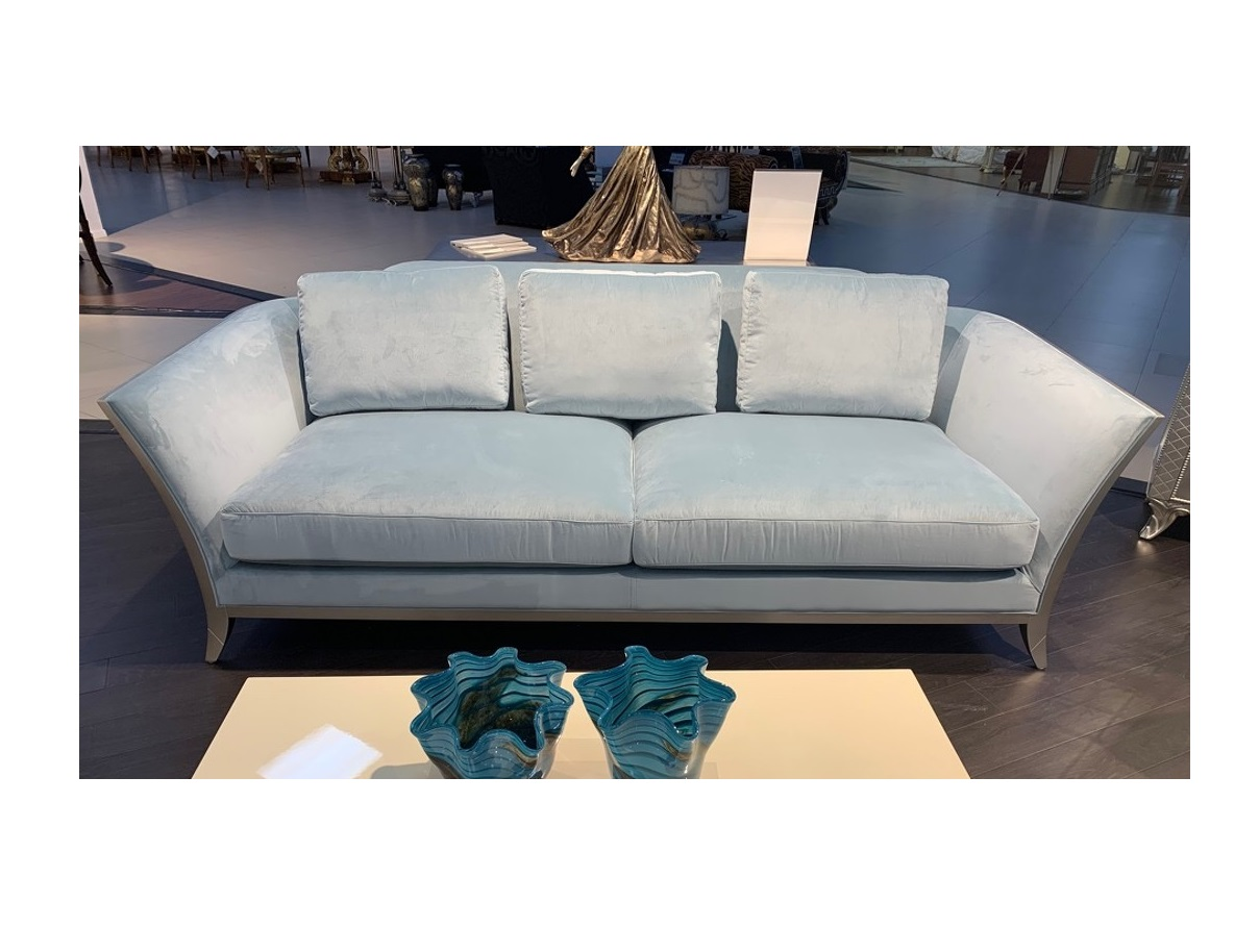 Fratelli barri диван трехместный modena голубой 133277/133304