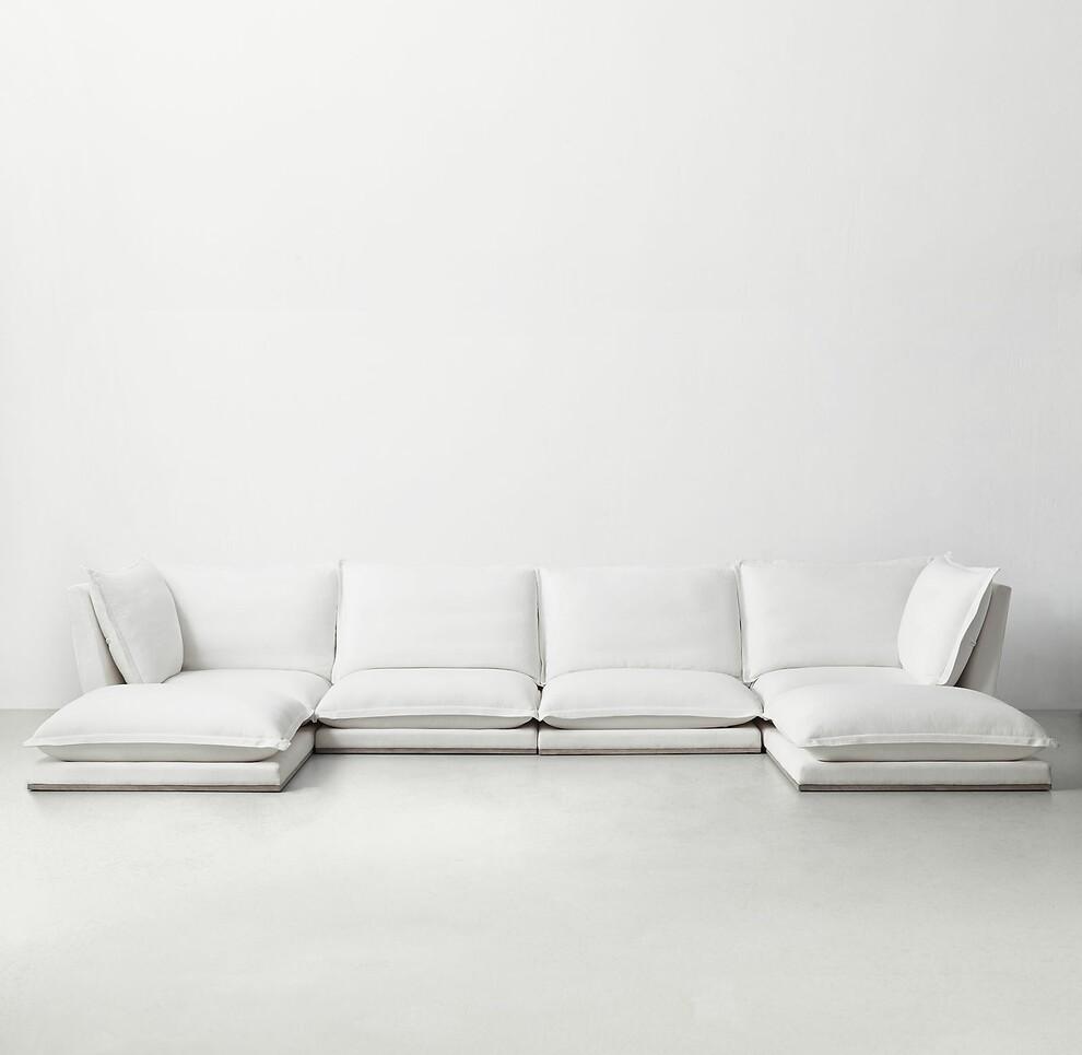 Idealbeds диван модульный cosa серый 133379/7