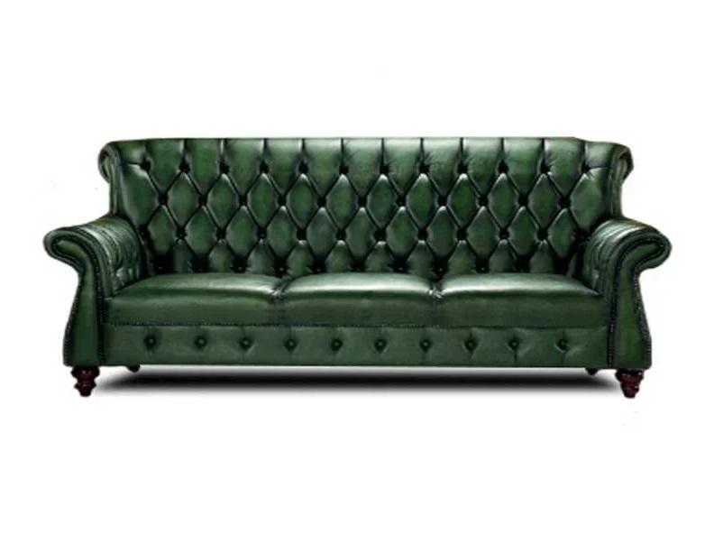 Myfurnish диван chesterfild зеленый 133613/4