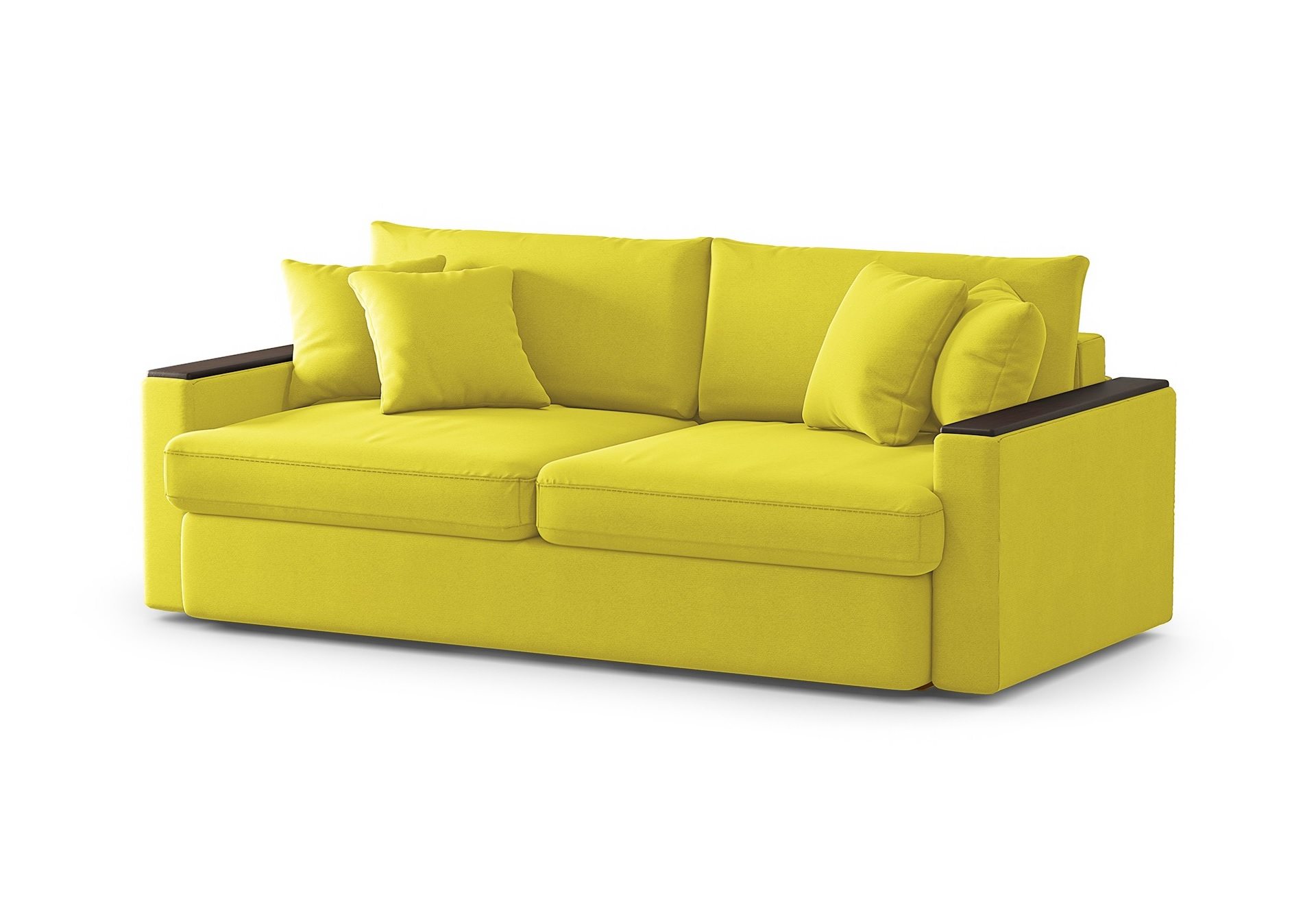 Диван стелф (fiesta) желтый 224x90x109 см.
