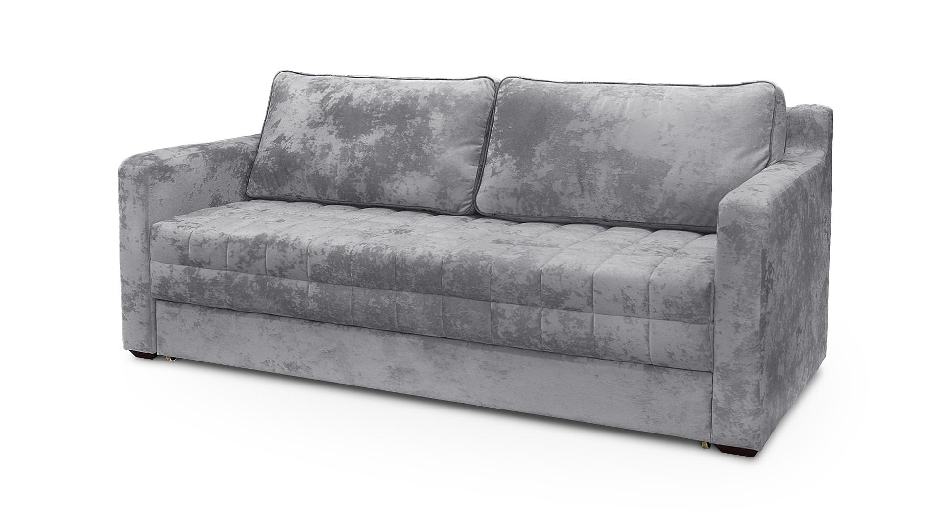 Диван лайт (fiesta) серый 217x90x95 см.
