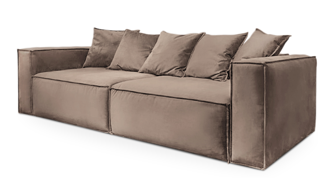 Fiesta диван софт коричневый 133775/9