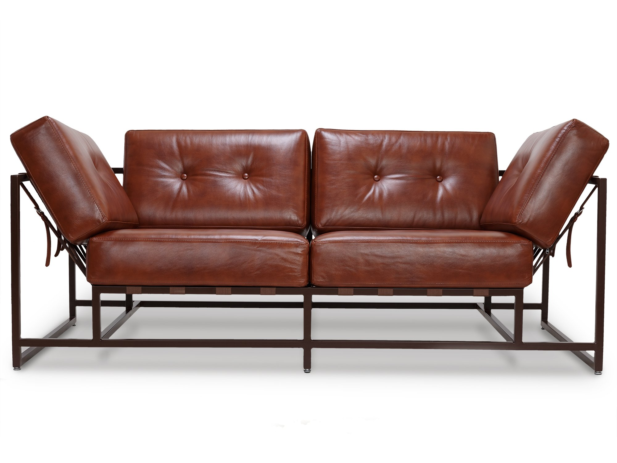 The_sofa двухместный диван лорд коричневый 134327/5