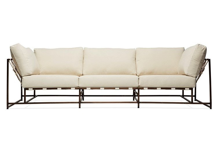 The_sofa трехместный диван комфорт белый 134328/9