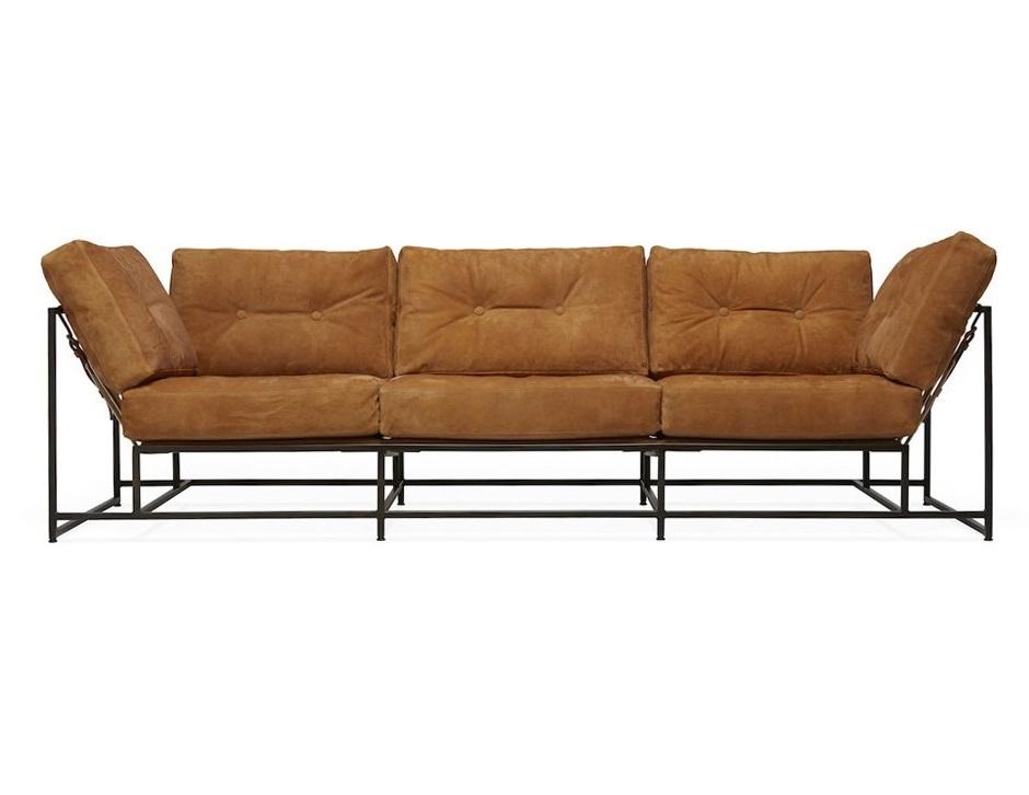 The_sofa трехместный диван комфорт черный 134329/134342