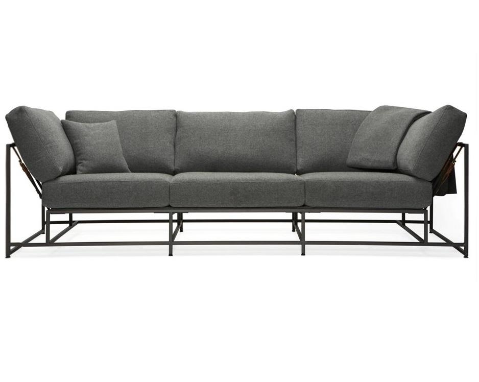 The_sofa трехместный диван комфорт коричневый 134330/2