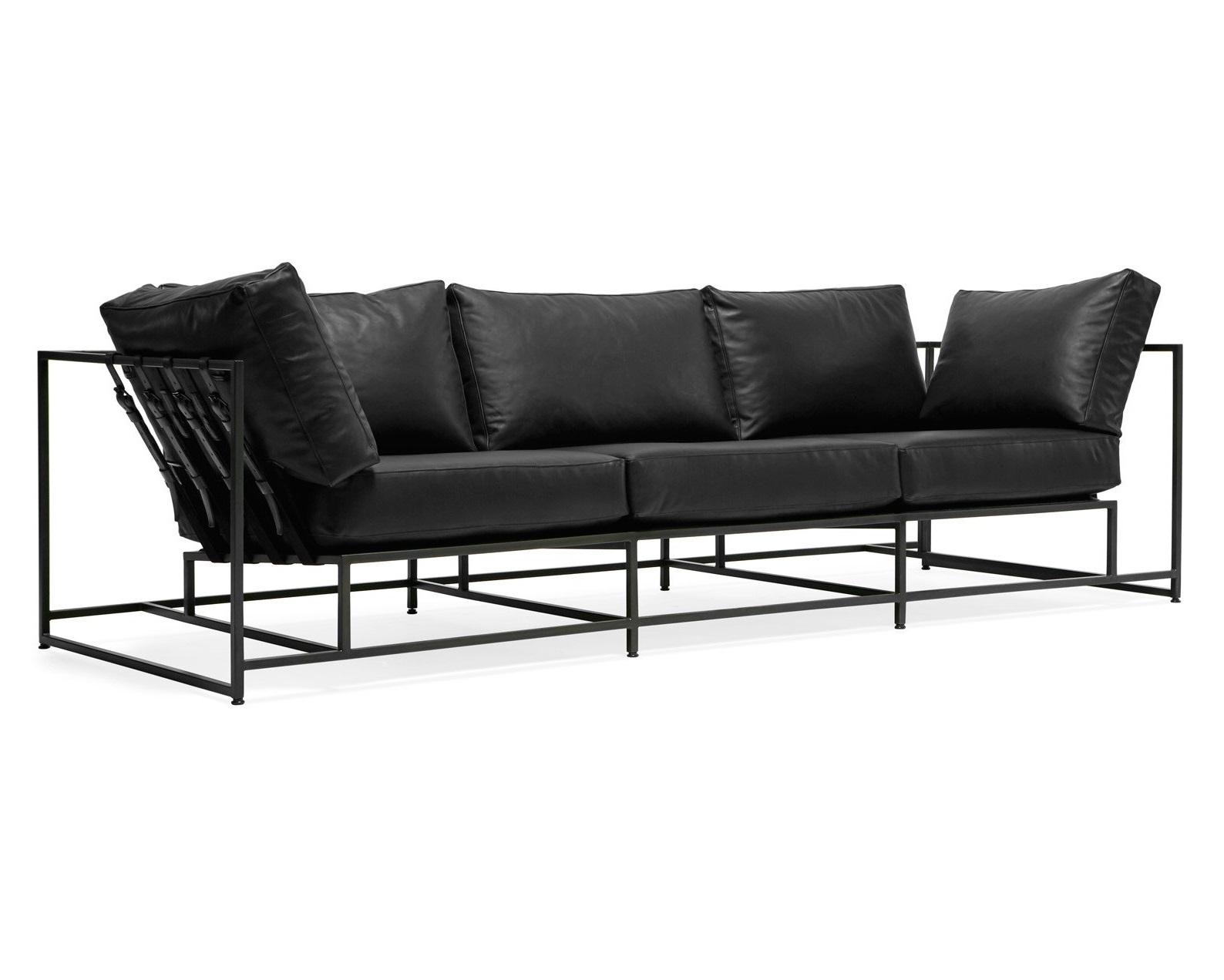 The_sofa трехместный диван лорд черный 134333/3