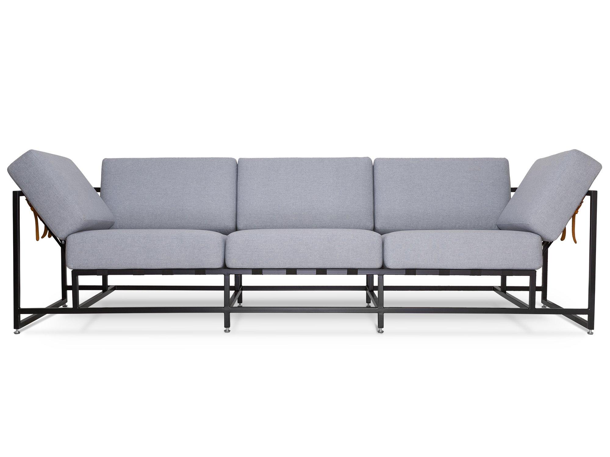 The_sofa трехместный диван комфорт серый 134335/9