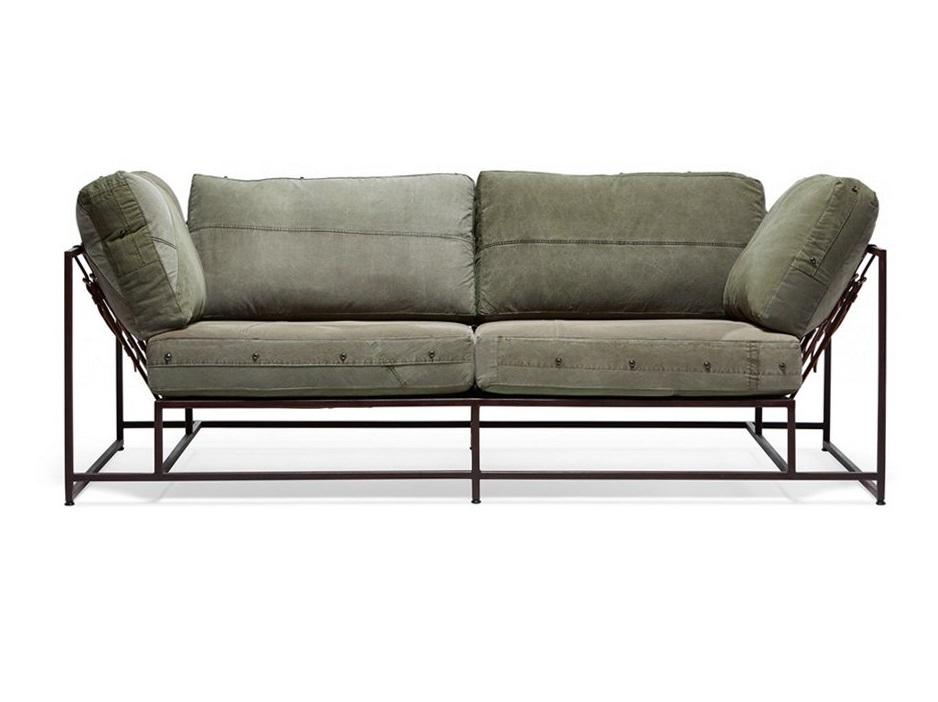 The_sofa двухместный диван милитари зеленый 134340/9