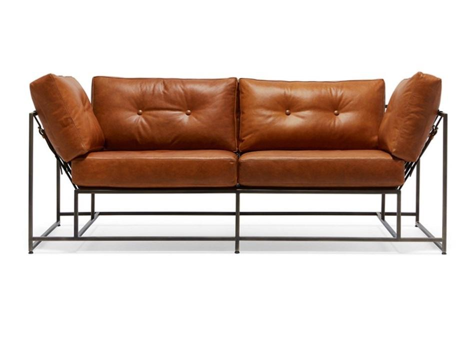 The_sofa двухместный диван лорд коричневый 134342/7