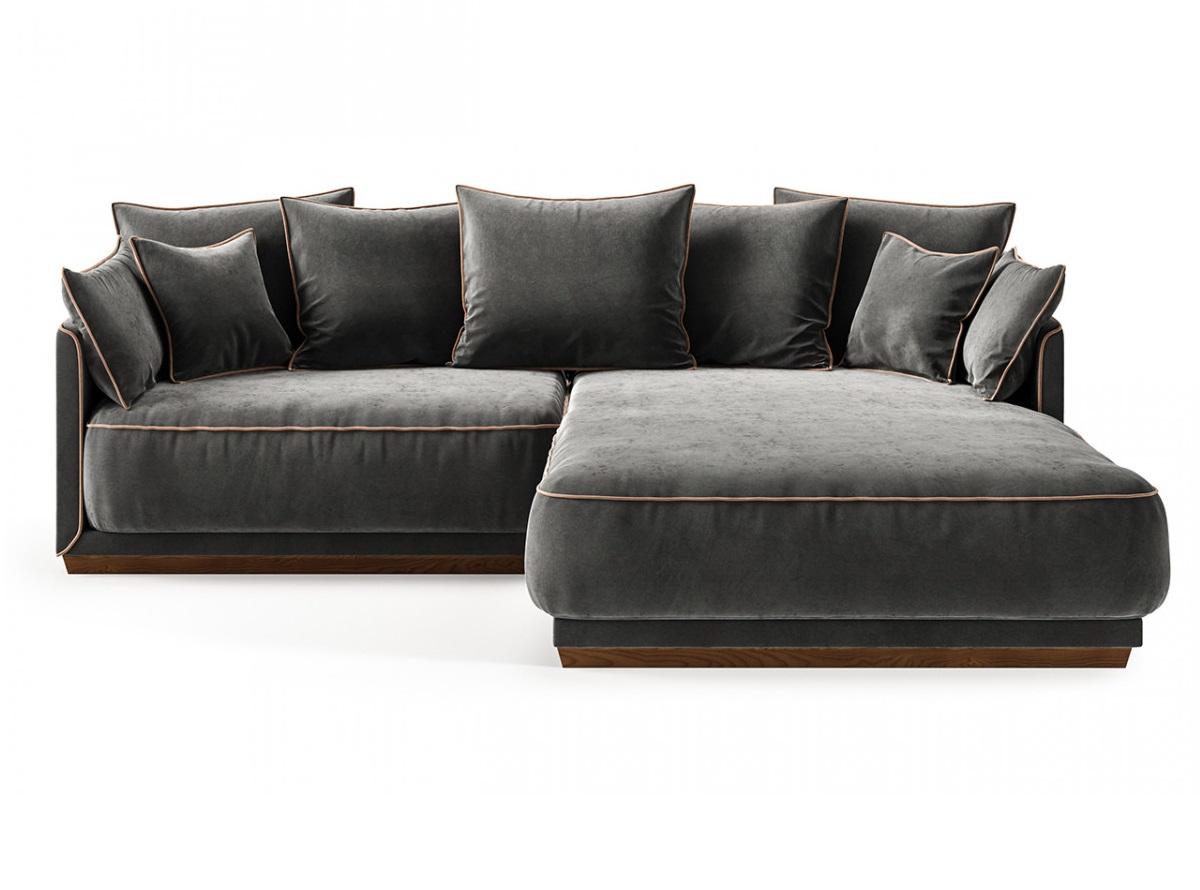 The idea диван soho серый 134390/4