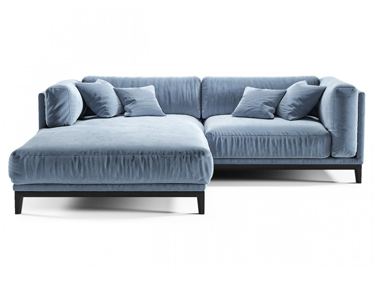 The idea диван case голубой 134394/1