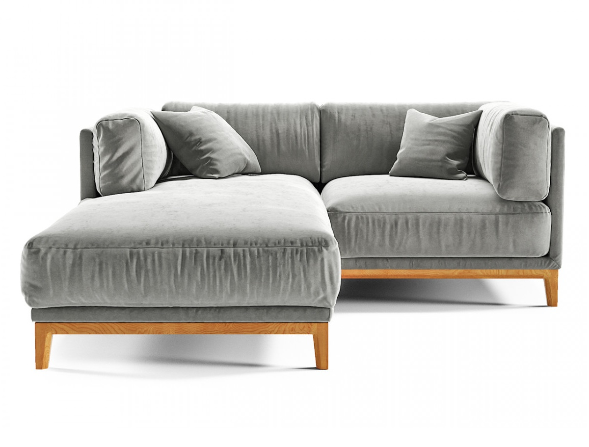 The idea диван case серый 134393/6