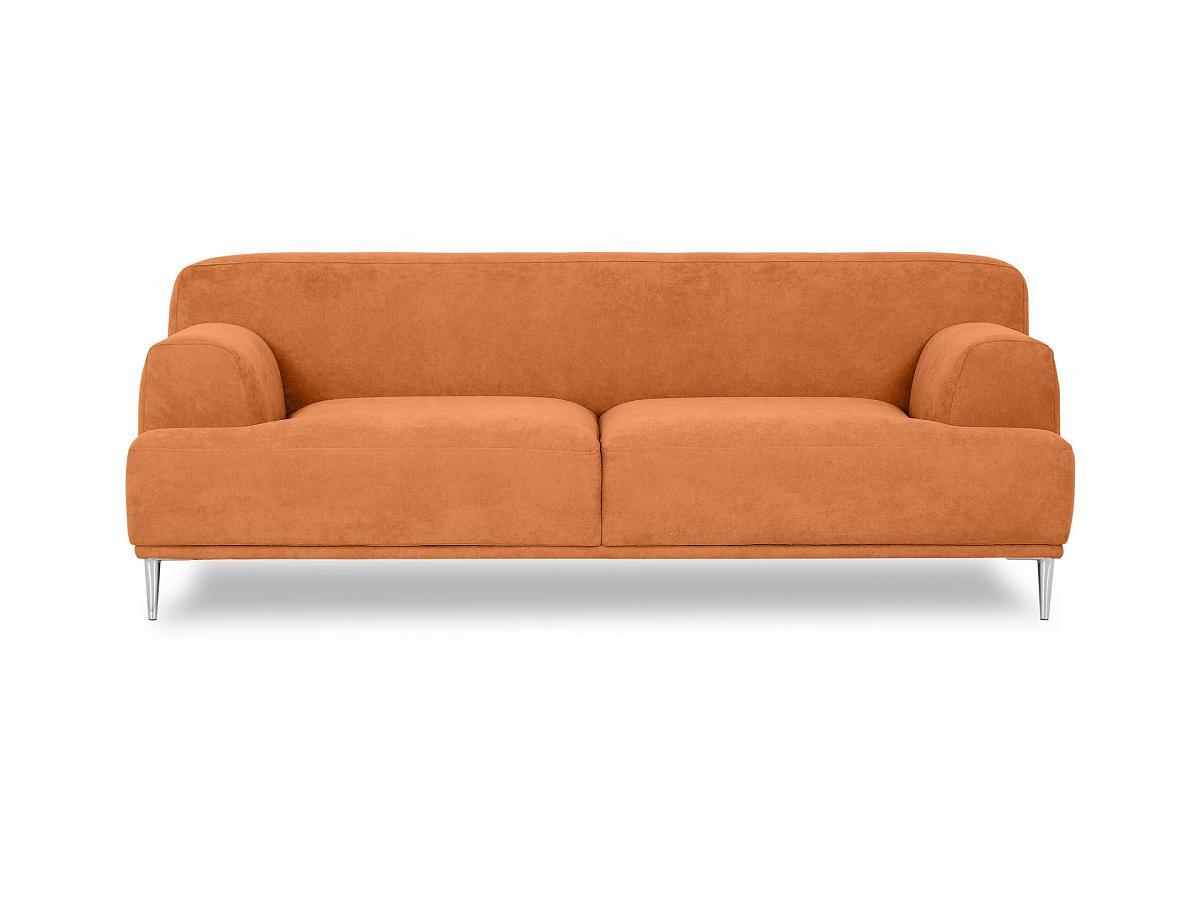 Ogogo диван portofino 2-х местный оранжевый 135354/7