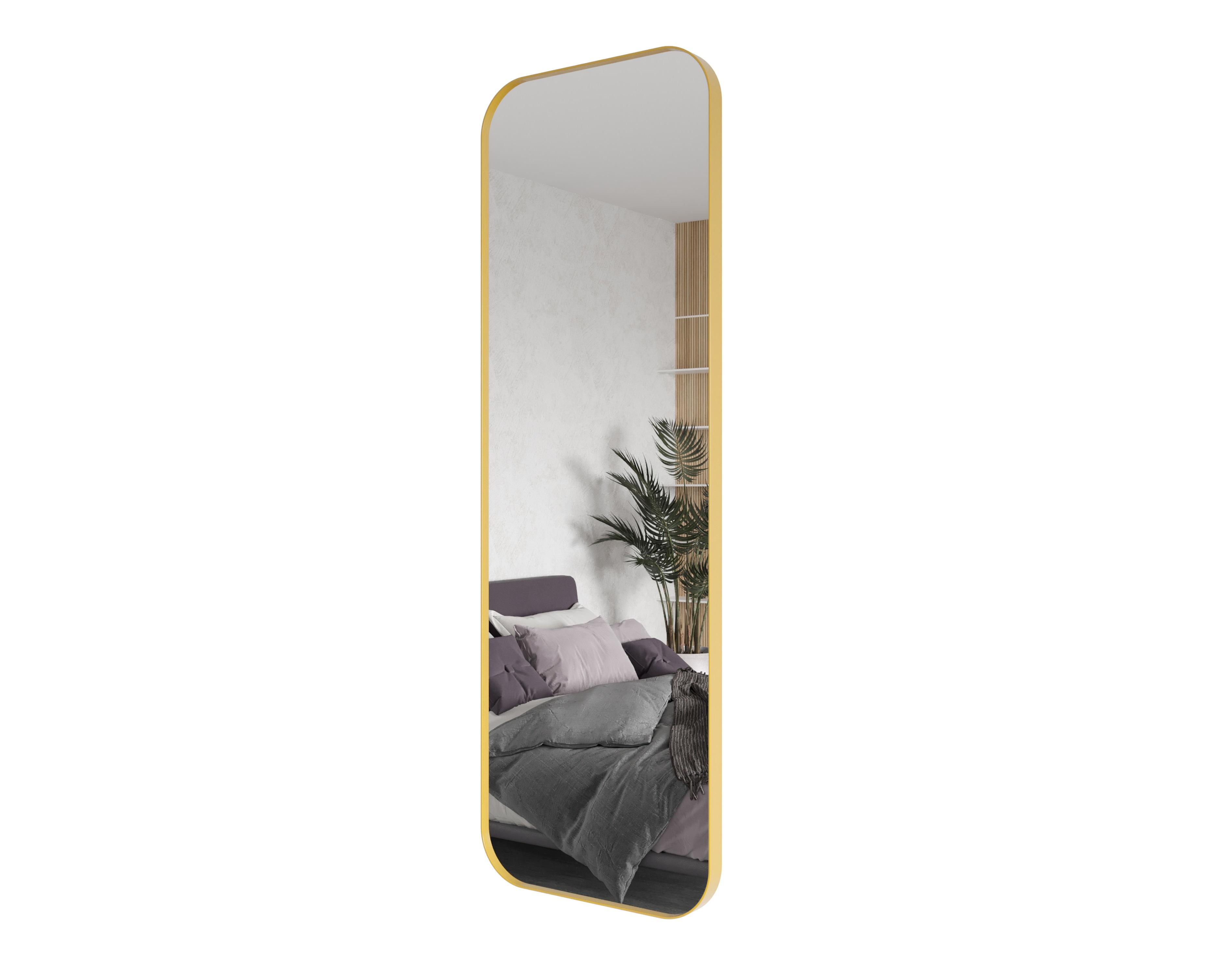 Зеркало kuvino (genglass) золотой 50x150x5 см.