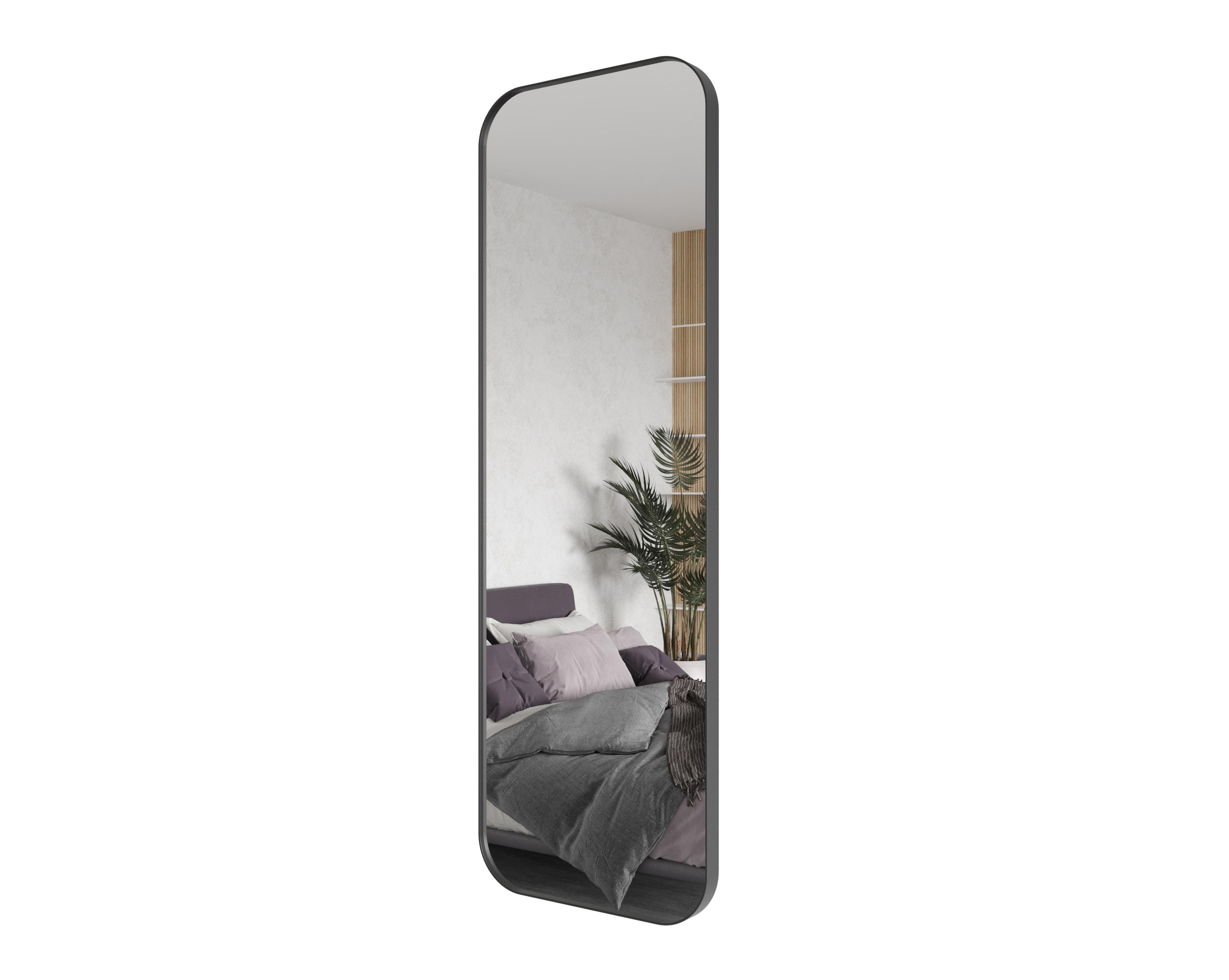 Зеркало kuvino (genglass) черный 50x150x5 см.