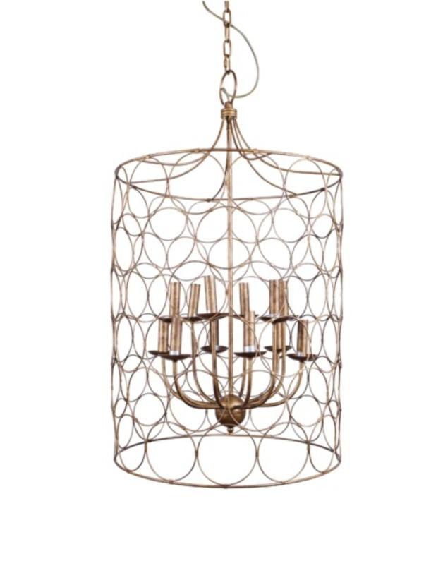 Подвесная люстра Copper HoneycombЛюстры подвесные<br>Количество ламп: 12<br>Цоколь: Е14<br><br>Material: Металл<br>Высота см: 99