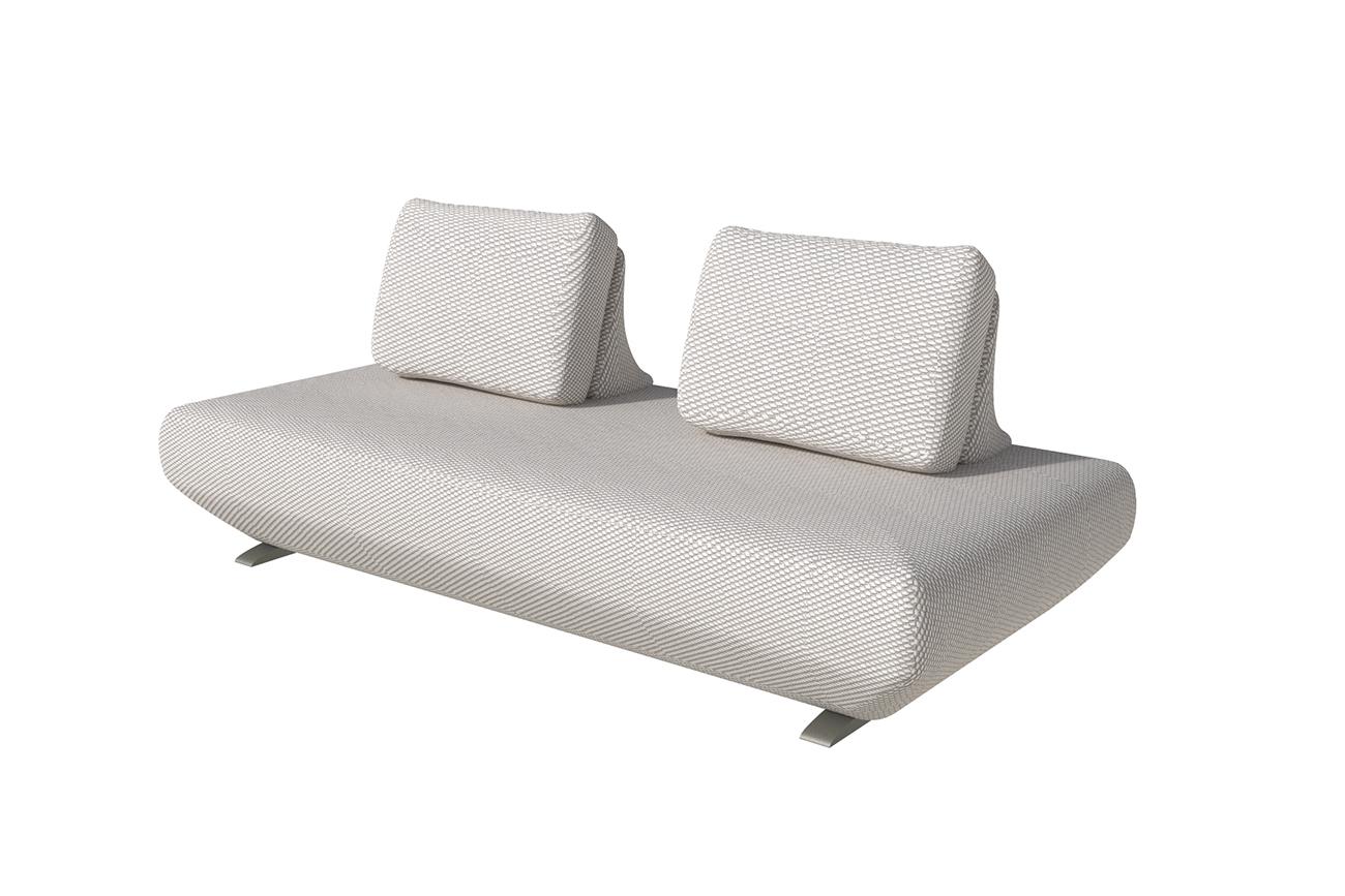 Garda decor диван уличный фридом серый 136100/136110