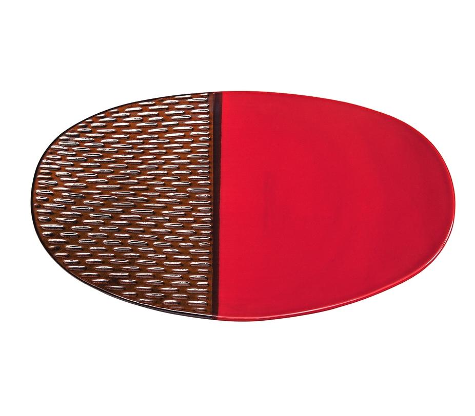 Блюдо декоративноеДекоративные блюда<br><br><br>Material: Керамика<br>Length см: 48<br>Width см: 6<br>Height см: 29.5