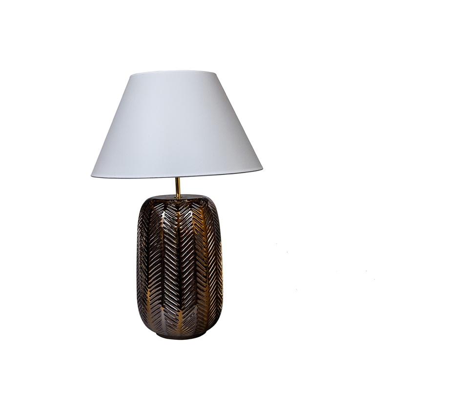 Настольная лампаДекоративные лампы<br>&amp;lt;div&amp;gt;Вид цоколя: E27&amp;lt;/div&amp;gt;&amp;lt;div&amp;gt;Мощность: 60W&amp;lt;/div&amp;gt;&amp;lt;div&amp;gt;Количество ламп: 1&amp;lt;/div&amp;gt;<br><br>Material: Керамика<br>Length см: None<br>Width см: None<br>Depth см: None<br>Height см: 68.0<br>Diameter см: 45.0