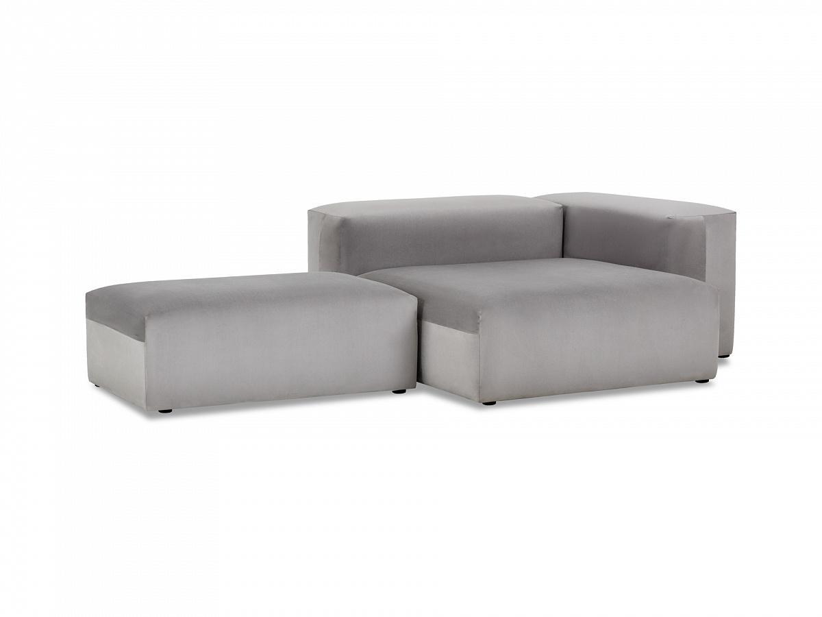 Ogogo модульный диван sorrento серый 137005/8
