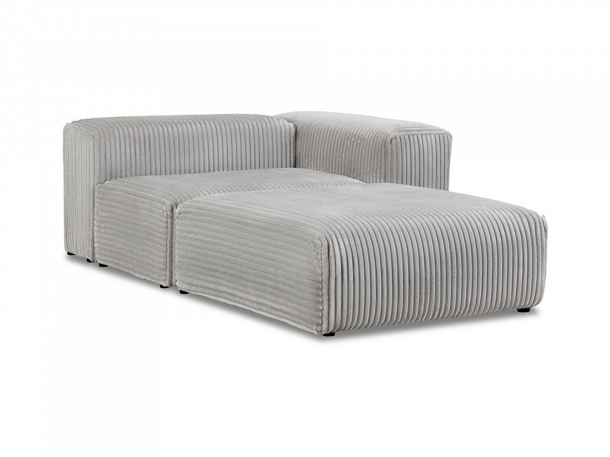 Ogogo модульный диван sorrento серый 137037/137086