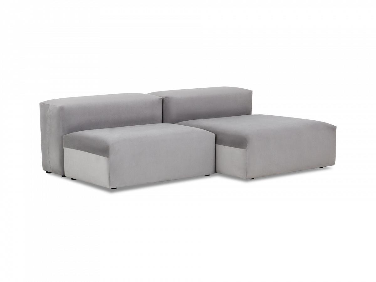 Ogogo модульный диван sorrento серый 137040/7