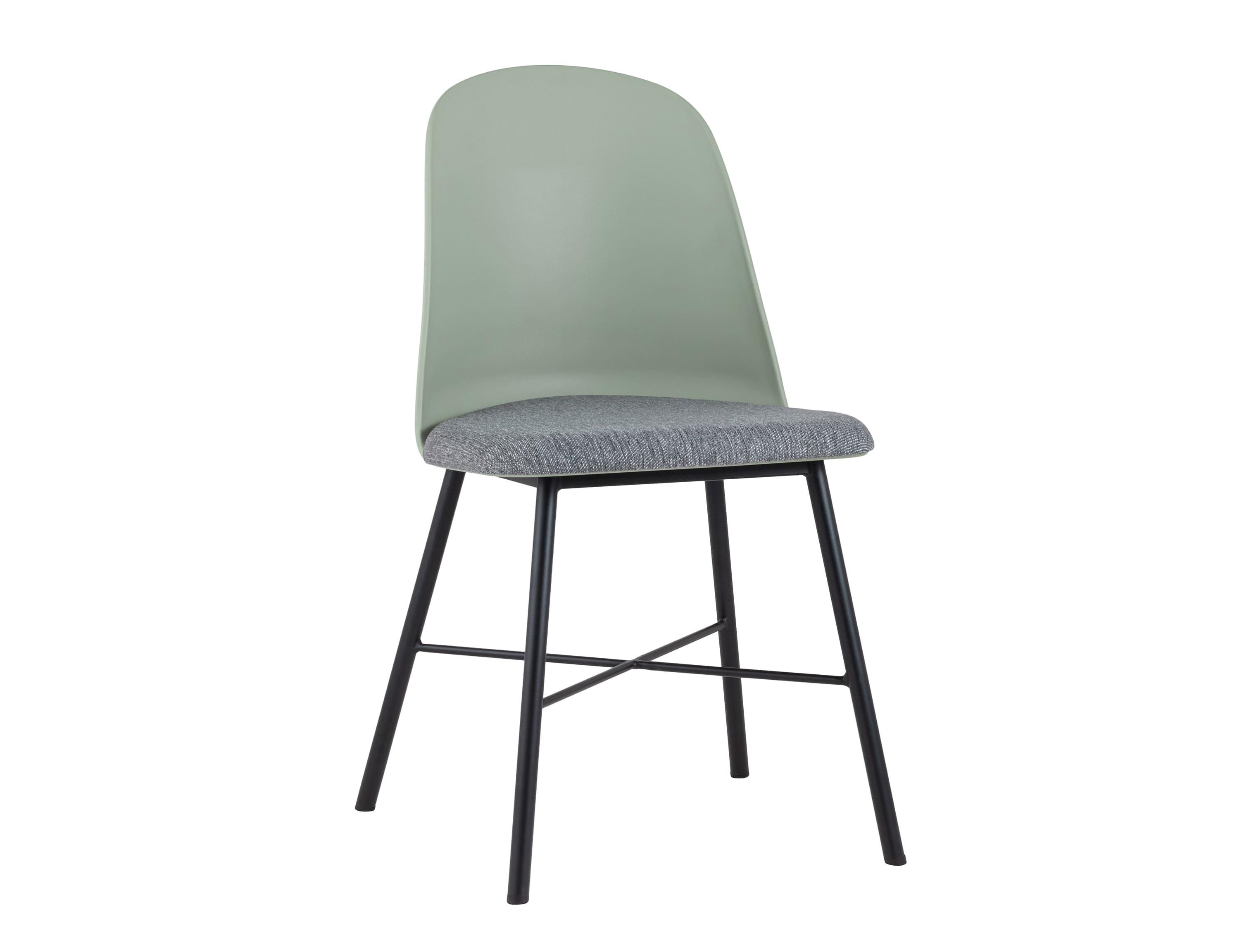 Стул shell (stool group) зеленый 50x83x52 см.