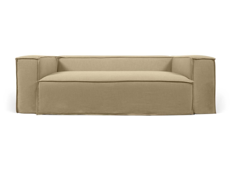 La forma двухместный диван blok со съемными чехлами бежевый 137428/137446