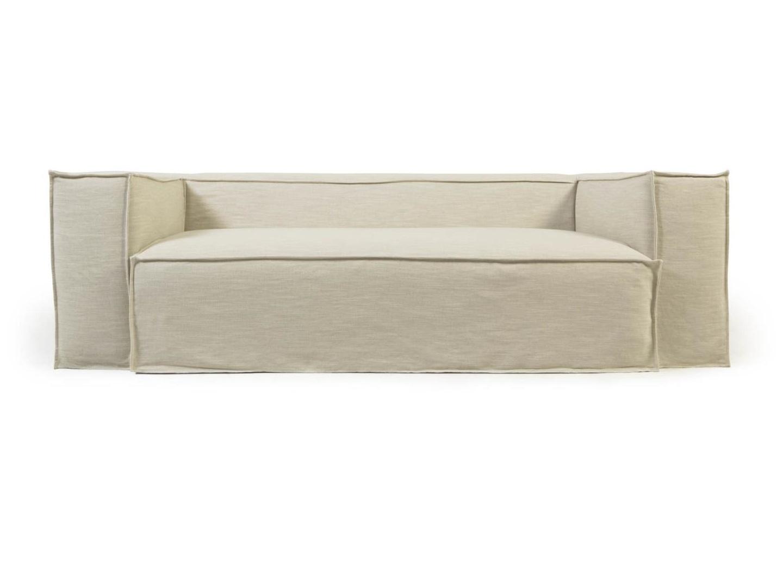 La forma двухместный диван blok со съемными чехлами белый 137429/4