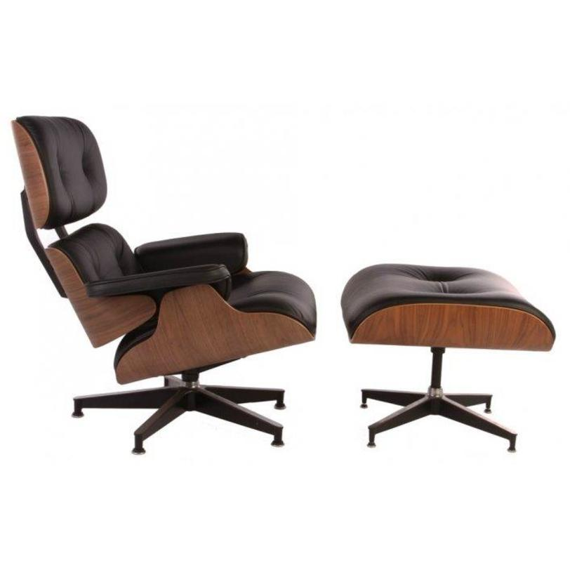 Кресло Eames Lounge Chair &amp; Ottoman Black PremiumКожаные кресла<br>&amp;lt;div&amp;gt;Материал: натуральная итальянская кожа premium-класса, поролон, деревянное основание, ножки из нержавеющей ста&amp;lt;/div&amp;gt;&amp;lt;div&amp;gt;&amp;lt;br&amp;gt;&amp;lt;/div&amp;gt;&amp;lt;div&amp;gt;Размер: 830*830*810; 650*530*400&amp;lt;/div&amp;gt;&amp;lt;div&amp;gt;Цвет: черный, орех&amp;lt;/div&amp;gt;<br><br>Material: Кожа<br>Length см: 83<br>Width см: 83<br>Height см: 81