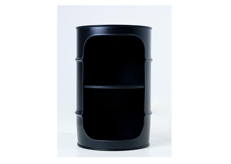 Журнальный столик-бочка xe black (starbarrel) черный 56 см.