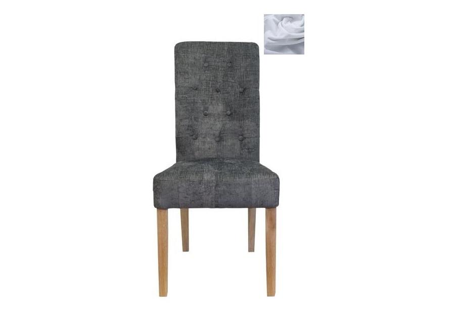 Обеденный стул ostin grey (mak-interior) серый 47x100x58 см.