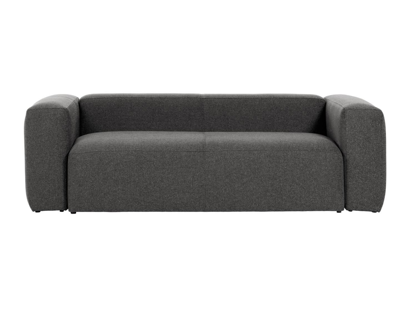 La forma диван двухместный blok серый 138209/5