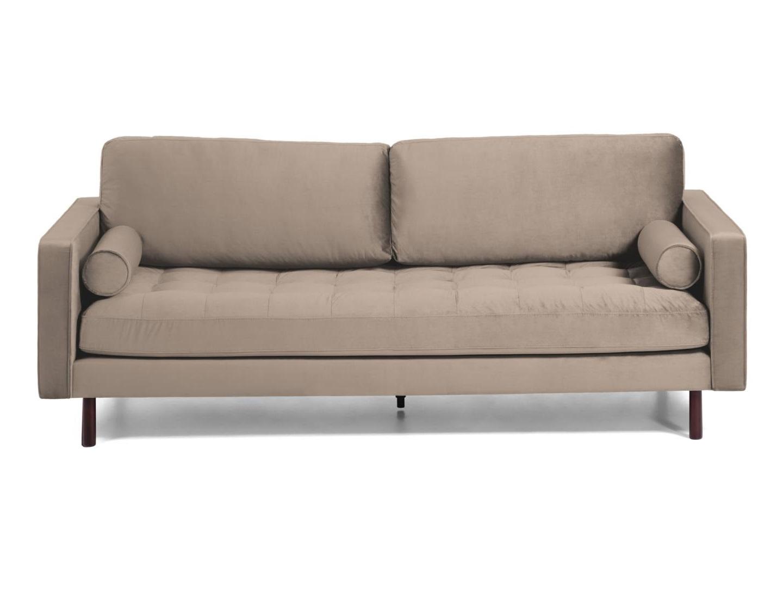 La forma диван трехместный bogart коричневый 138230/8