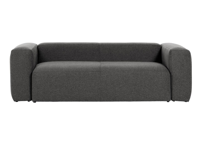 La forma диван трехместный blok серый 138327/6