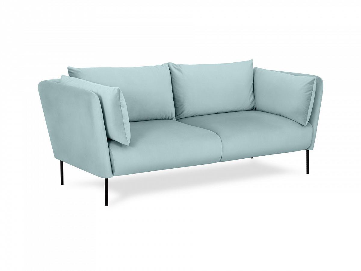 Ogogo диван copenhagen бирюзовый 138589/2