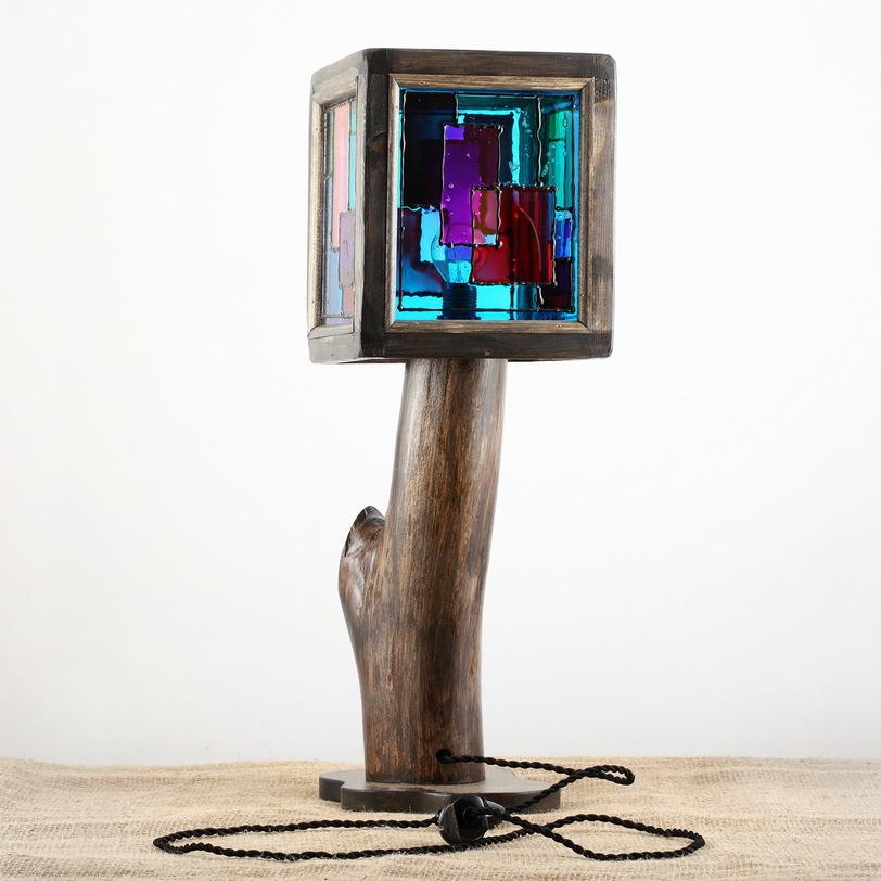 Настольный светильник Doors of PerceptionДекоративные лампы<br>&amp;lt;div&amp;gt;Каждое изделие уникально. При заказе возможно изготовление аналога, но он никогда не будет в точности повторять прототип, изображенный на фотографии.&amp;lt;/div&amp;gt;&amp;lt;div&amp;gt;Цоколь: Е14 (миньон)&amp;amp;nbsp;&amp;lt;/div&amp;gt;&amp;lt;div&amp;gt;Мощность: 60 Вт&amp;lt;/div&amp;gt;<br><br>Material: Дерево<br>Ширина см: 21.0<br>Высота см: 60.0<br>Глубина см: 21.0