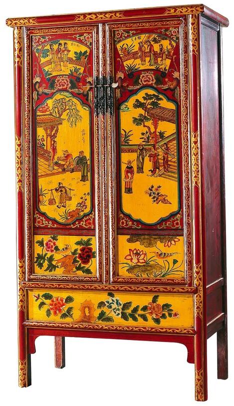 Шкаф платяной гуй-липин (asia home) мультиколор 105x175x50 см.