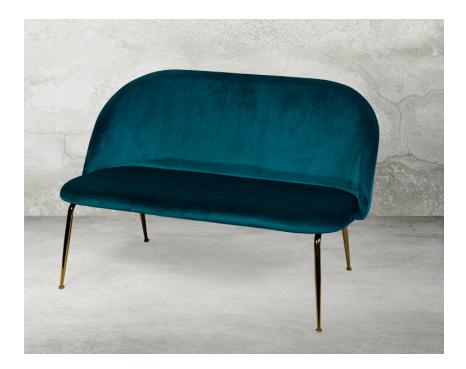 Desondo диван двухместный зеленый 138960/138967