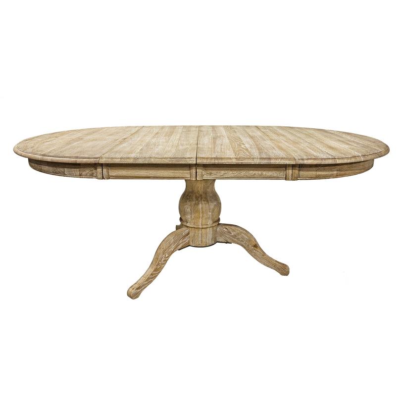 Living Овальный обеденный стол раскладной
