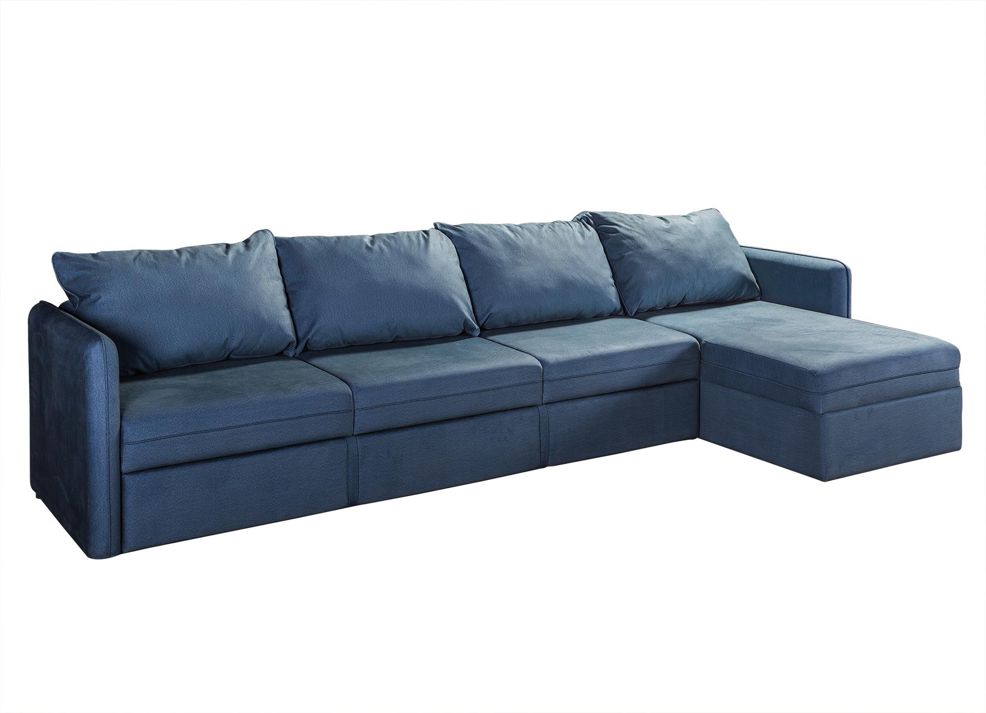 R-home диван угловой джордан синий 139690/8