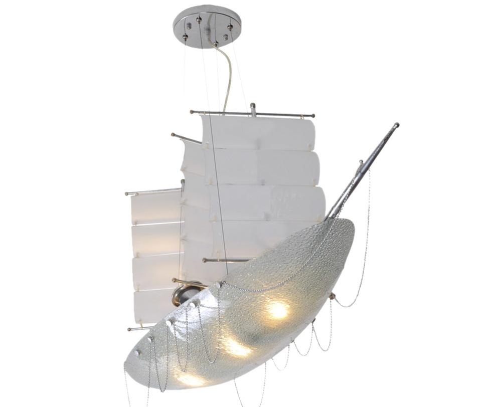 Подвесной светильник ПарусникПодвесные светильники<br>Количество ламп: 4<br>Размер цоколя: Е27<br>Мощность: 40W<br>С пультом ДУ<br><br>Material: Металл<br>Ширина см: 25<br>Высота см: 80